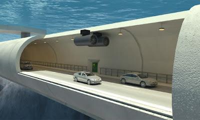 挪威的瘋狂交通專案:讓海底隧道浮起來
