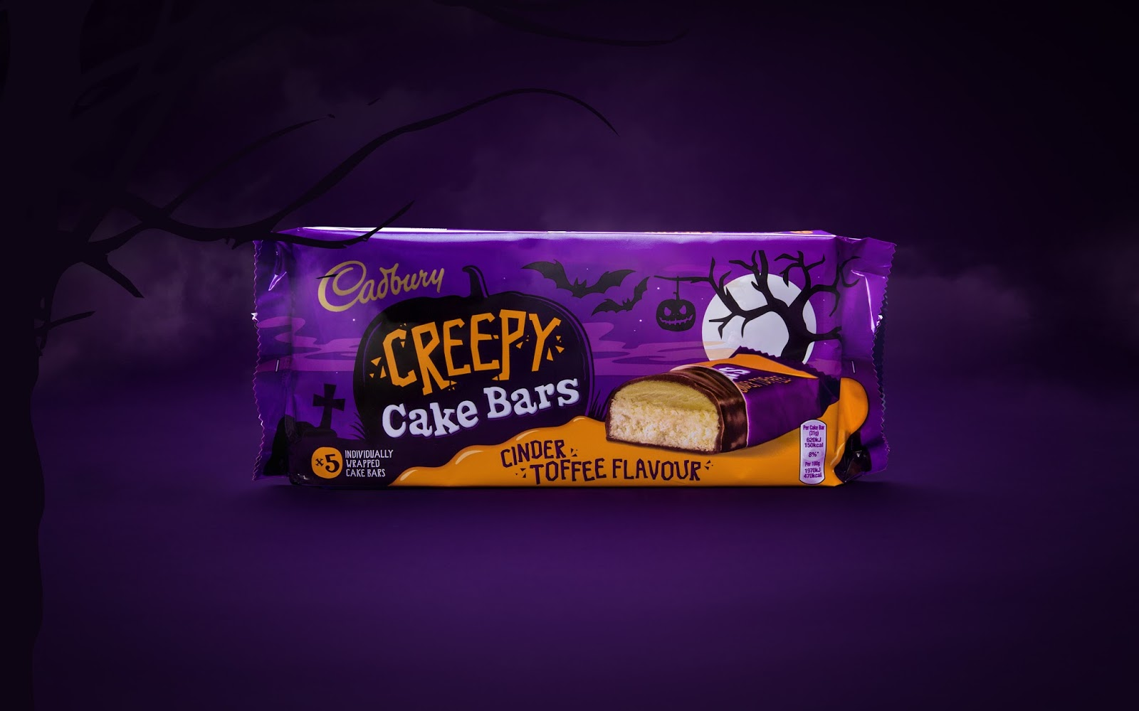Cadbury Halloween Cakes On Packaging Of The World