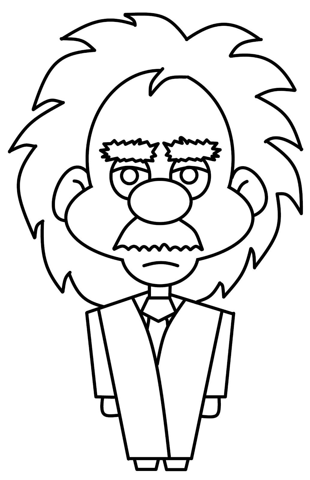 How To Draw Cartoons Einstein