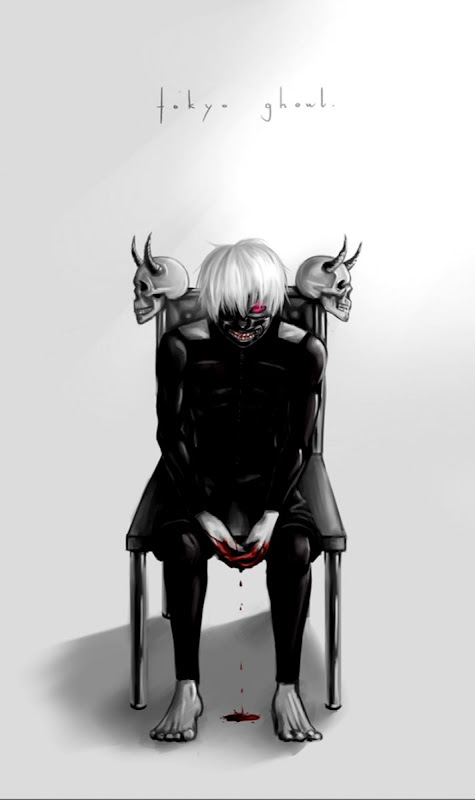Tokyo Ghoul Scary Mask Wallpaper Soft Wallpapers
