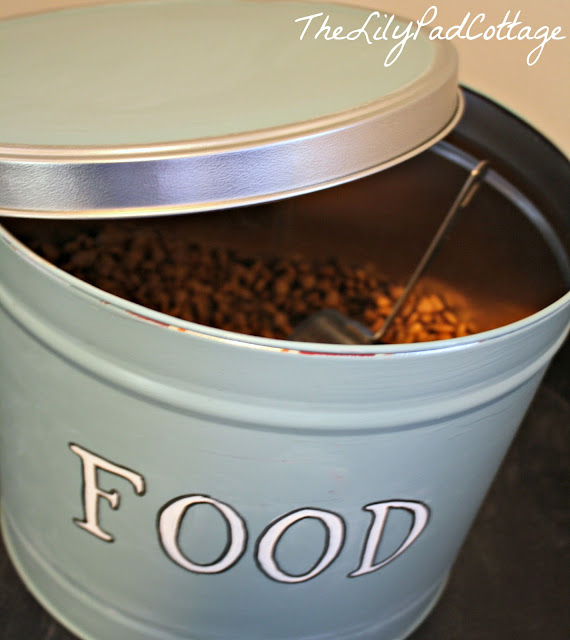 dog food container diy