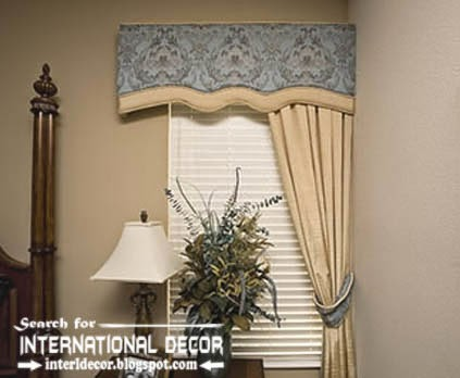 Window decorations, The best ideas for window decor, stylish valance curtain and blinds