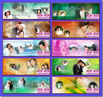 Wedding Psd Templates Psd Files Download