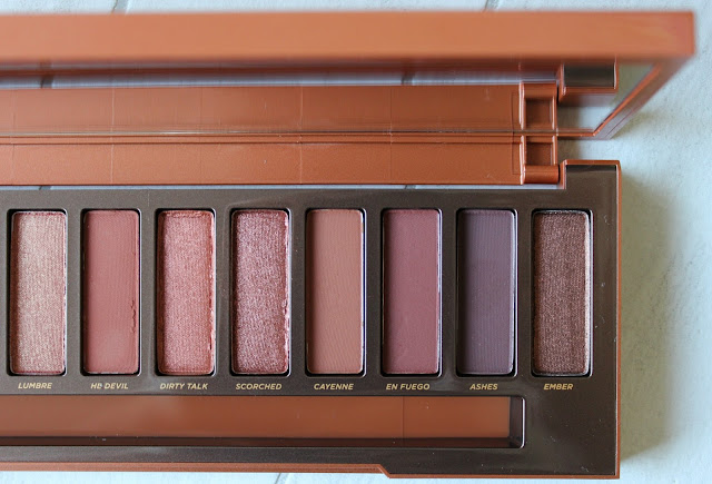 A review of the Urban Decay Naked Heat Eyeshadow Palette