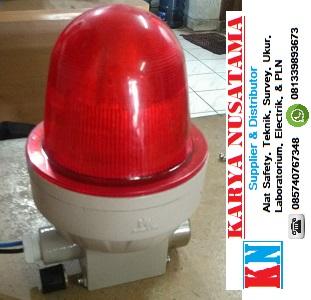 Jual Lampu Rotary LED Plus Sirine Explosion Proof di Malang