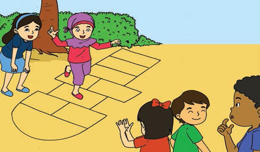 Permainan Tradisional Di Daerahku Media Edukasi Pembelajaran Tematik