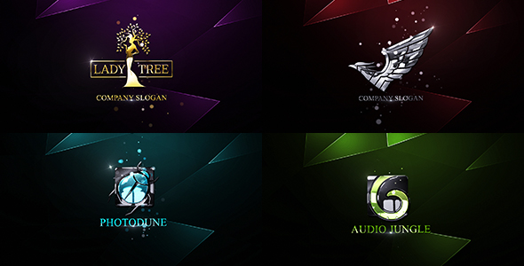 VIDEOHIVE ELEGANT GLOSSY LOGO Free Download After Effect Projects - Free ae logo templates