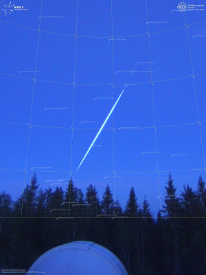 On the night of July 5th at 0:28:51 could a large, blue-green meteor seen from most parts of southeast Norway
