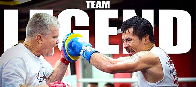 Countdown to Pacquiao vs. Vargas | #TeamLegend vs #TeamChamp (VIDEO)