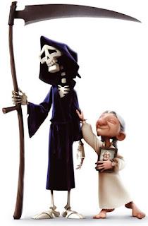 la muerte y el anciano