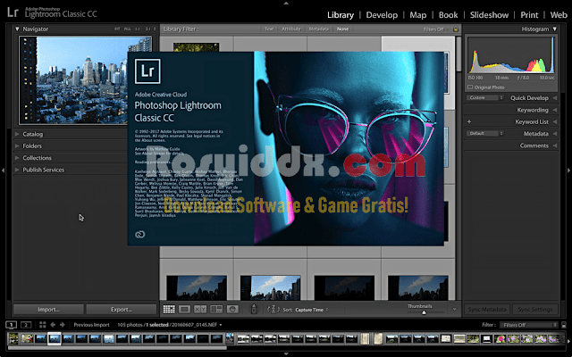 Adobe Lightroom CC 2018