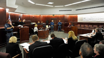 Holmes trial: July 2012 hearing (file photo)