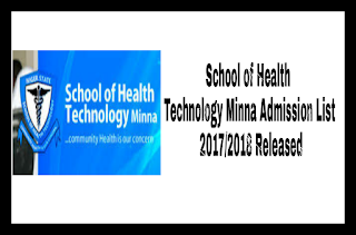 Image for School of Health Technology Minna