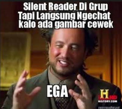 132 Meme Lucu 'Silent Reader' Ini Nyindir Abis Orang Yang Nggak Aktif di Grup Chatting
