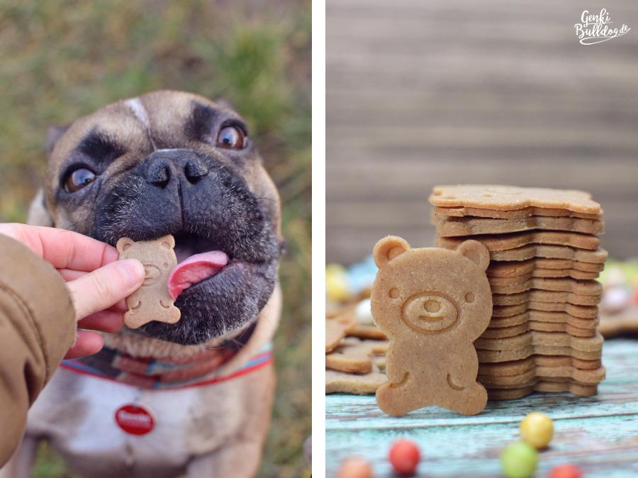 Rezept Hundekekse Hundeleckerli mit Sesammus selbst backen