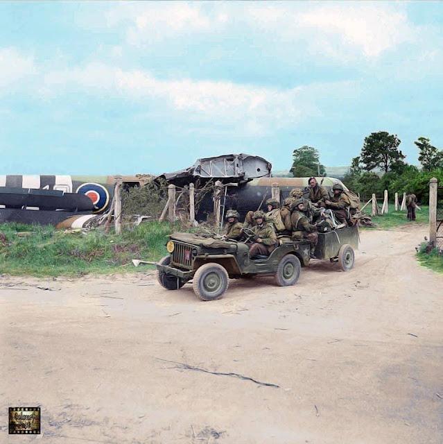 Royal Ulster Rifles color photos of World War II worldwartwo.filminspector.com