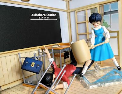 """S.H.Figuarts """"Akane Tendo"""" de Tamashii Nations."""