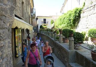 Callejeando por San Marino.