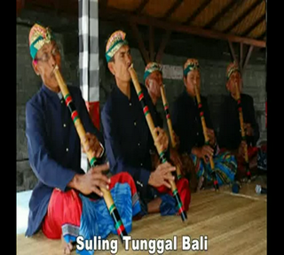 Kumpulan Suling Tunggal Bali