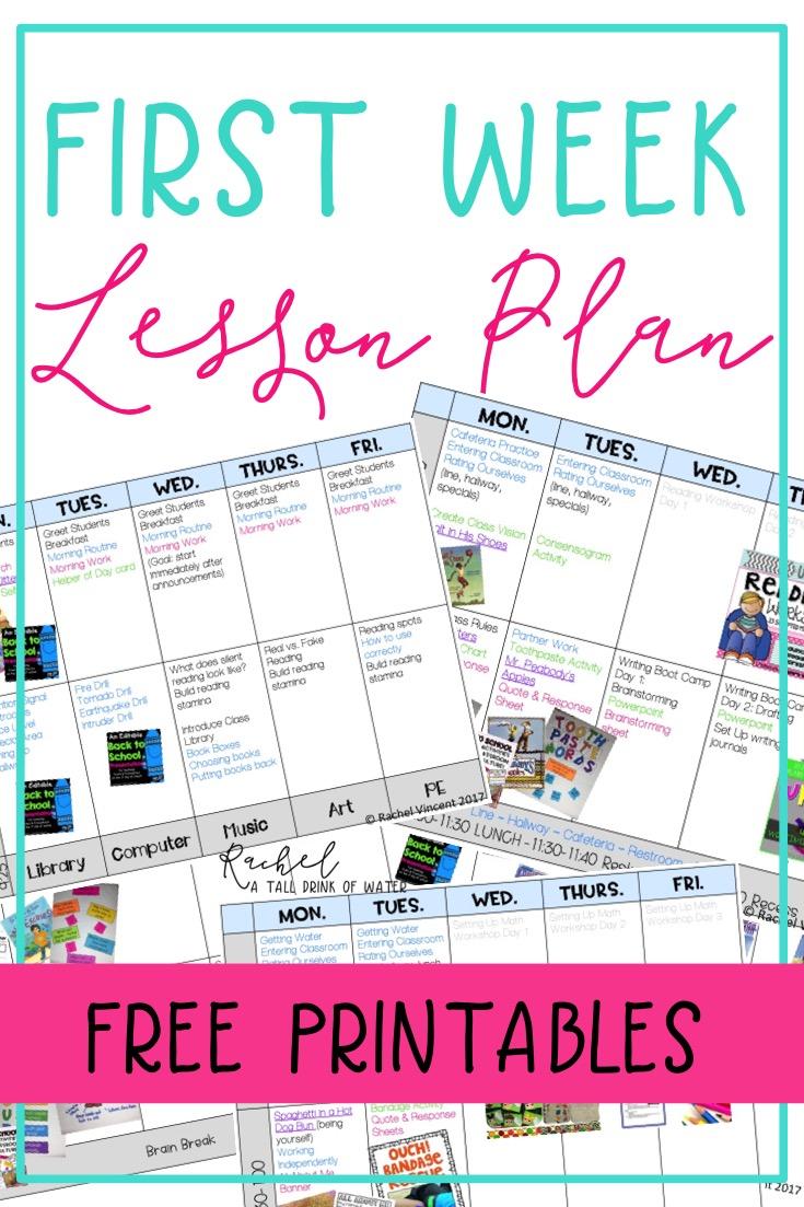 PDF Lesson Plans Crazy Weekend