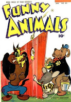 Slinky Stinky on Funny Animals 83 cover