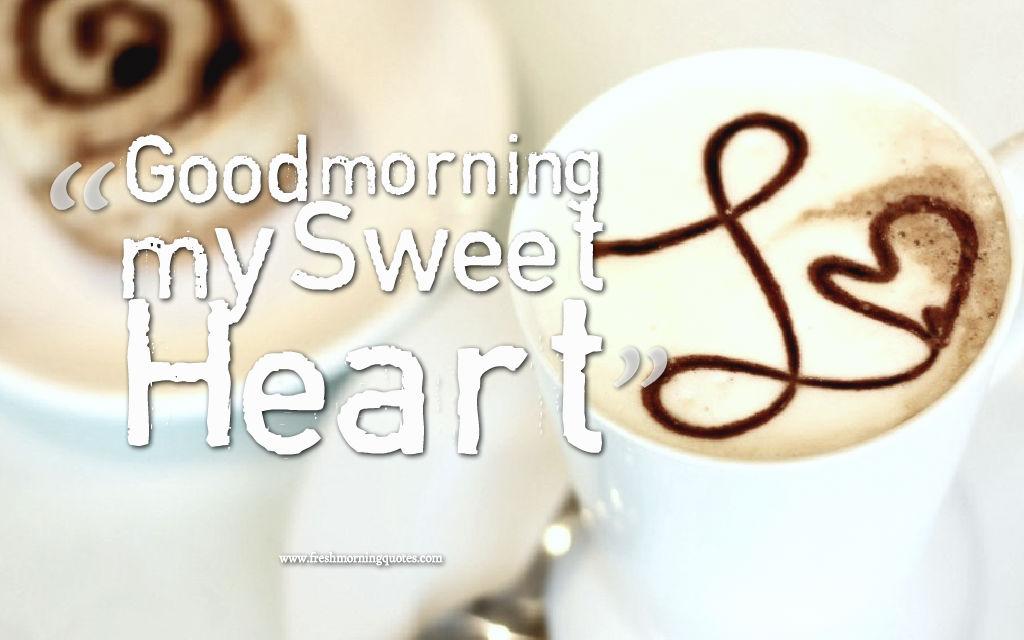 good morning sweet heart coffee wallpapers