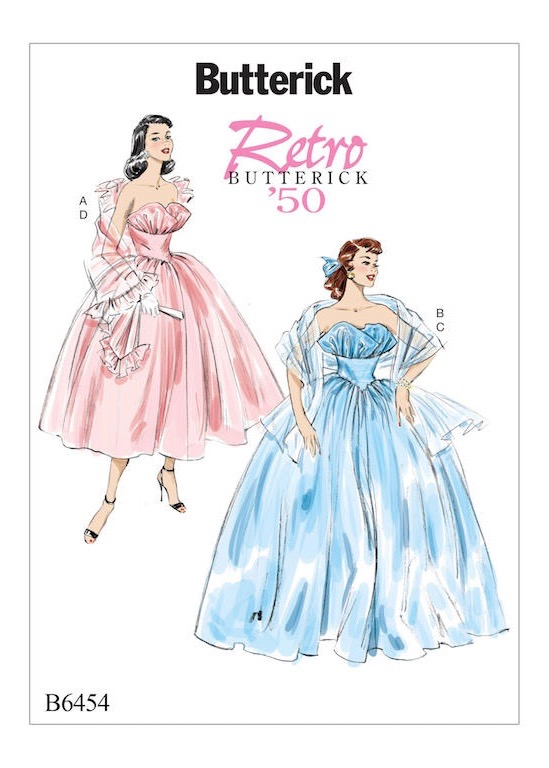 Butterick Retro Prom Dresses
