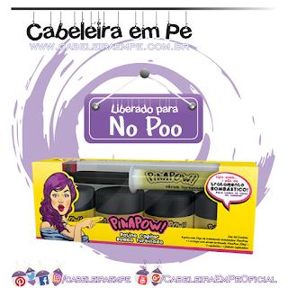 Rotina Capilar Turbinada -  Máscara Turbinada e Sérum Turbinado - Pinapow (No Poo)