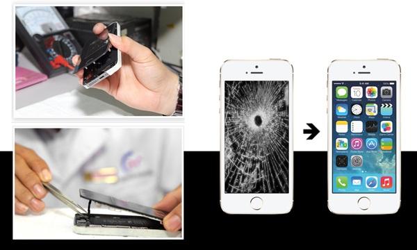 Nhu cầu thay mặt kính cho iPhone SE