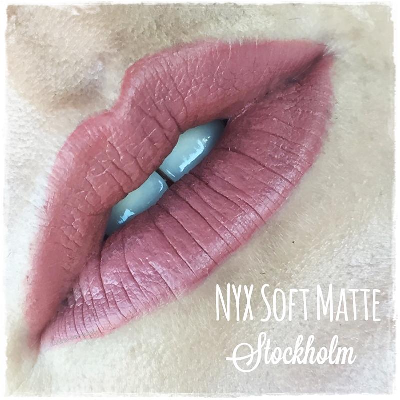Nyx Soft Matte Lip Cream Stockholm Ve Athens Larc En Ciel