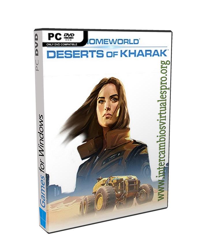 Homeworld Deserts of Kharak poster box cover