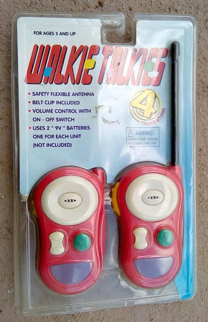 Walkie Talkie de brinquedo Vermelho