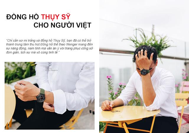 Đồng hồ Thụy Sỹ cho người Việt