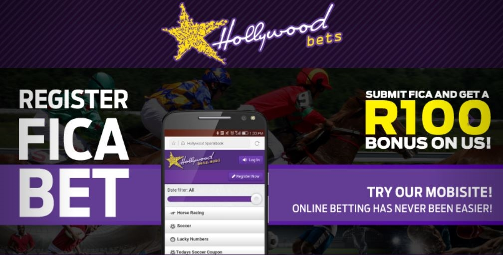 Register, FICA, Bet with Hollywoodbets - Mobile Betting