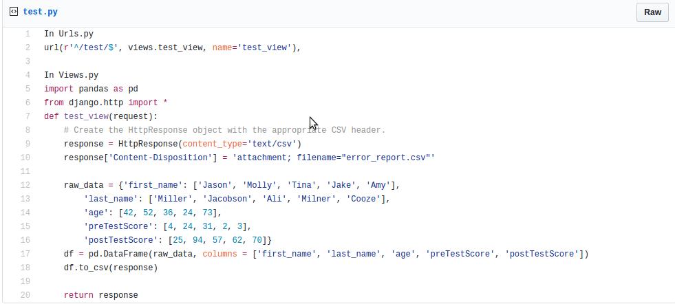 pandas dataframe read csv file