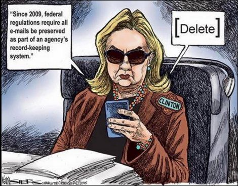 "Hillary Clinton email ""scandal""."