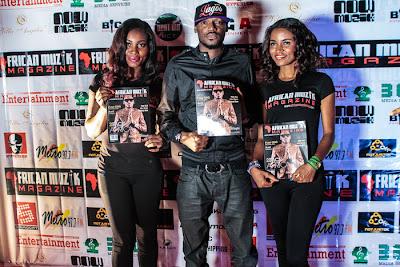 2Face Idibia at African Muzik Magazine launch