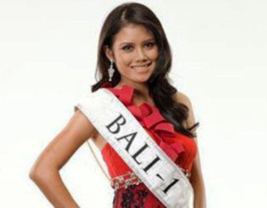 Profile Biodata Profil Ines Putri Tjiptadi Chandra Miss Bali