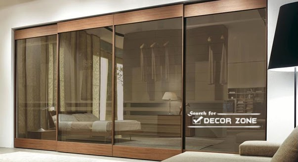 Bedroom wardrobe designs, ideas and types