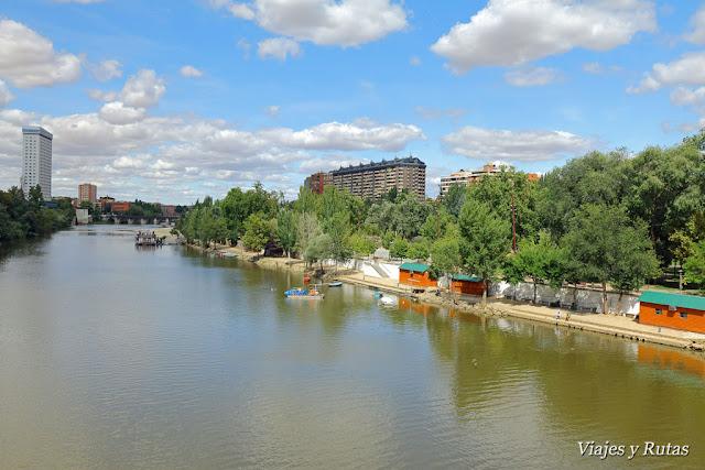 Río Pisuerga, Valladolid