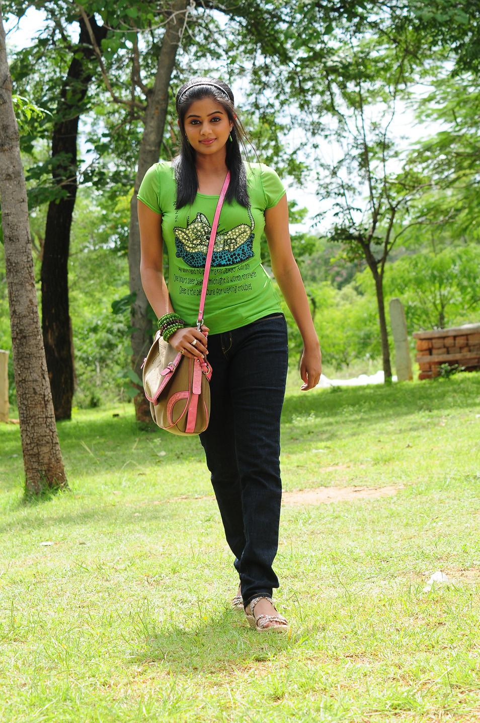 Priyamani cute photoshoot in green top