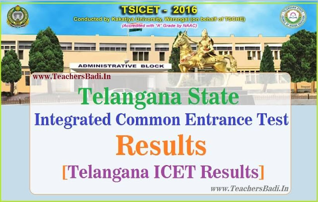 TS ICET,Results,Telangana ICET Results