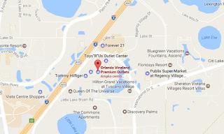 Como llegar a Orlando Vineland Premium Outlet