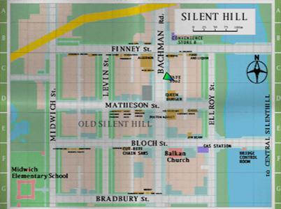 Silent Hill 1 Map