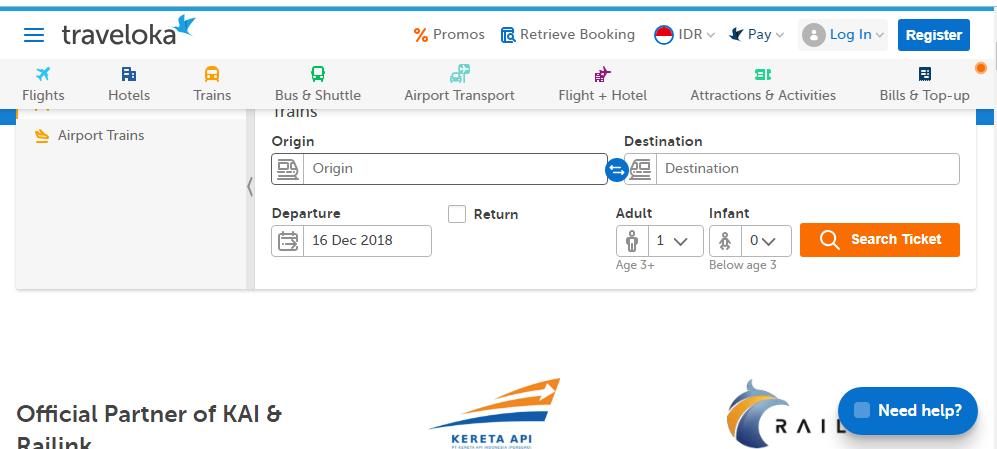 Pesan tiket kereta di Traveloka mudah dan cepat. dab7ae7182