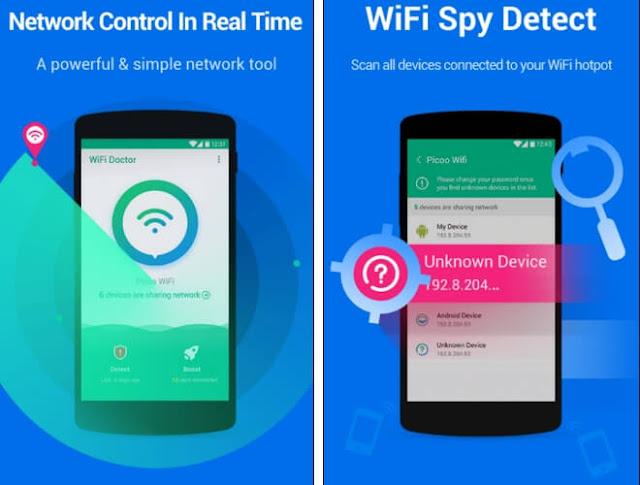 WiFi Doctor - Προστατέψτε και επιταχύνετε τo WiFi δίκτυο σας