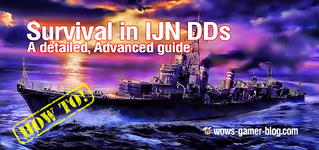 Survival in IJN DDs - A detailed, advanced guide