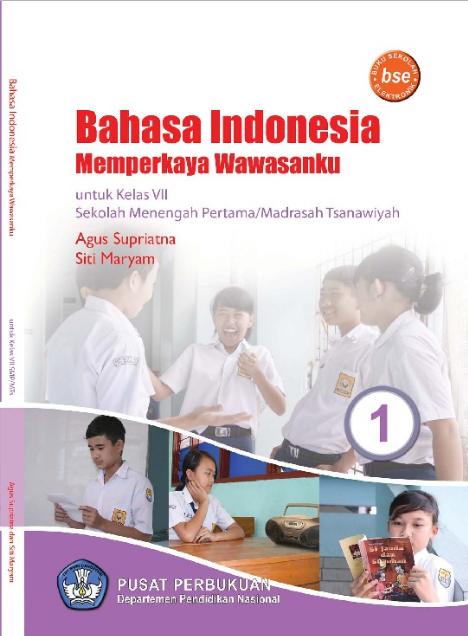 Download Buku Siswa KTSP SMP dan MTs Kelas 7 Bahasa Indonesia Memperkaya Wawasanku