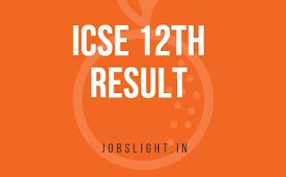 ICSE 12th Result