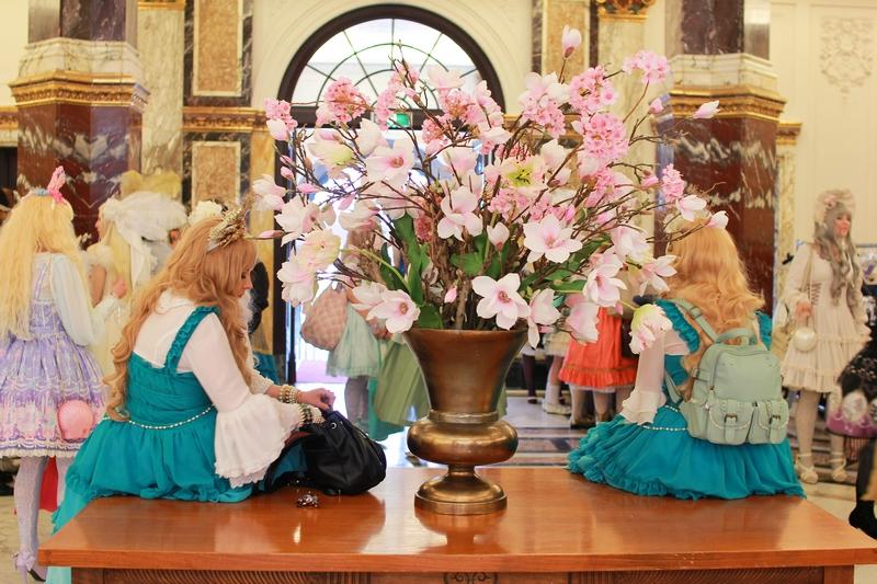 rassemblement lolita aux pays-bas organisé par l'association SFE lors du premier weekend de mai 2016